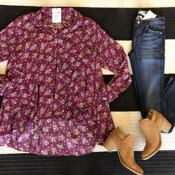 Berry Blooms Tunic