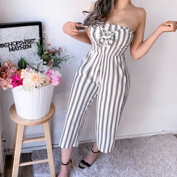 ANGELINA STRIPED JUMPSUIT (WHITE)