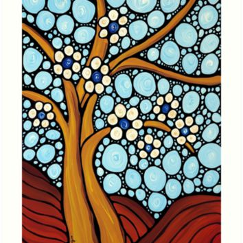 'The Loving Tree' Art Print by Sharon Cummings