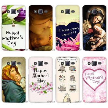 Virgin Mary Baby Jesus Clear Case Cover Coque Shell for Samsung Galaxy J1 J2 J3 J5 J7 2016 2017 Emerge