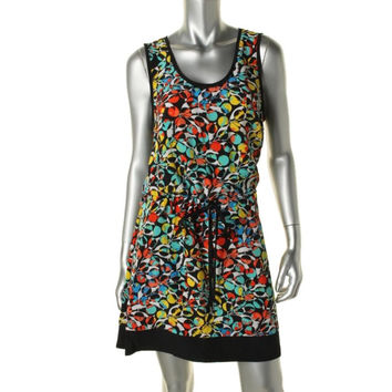 Marc by Marc Jacobs Womens Silk Printed Casual Dress