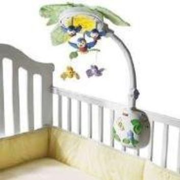 Fisher-Price Flutterbye Dreams Lullabye Birdies Mobile
