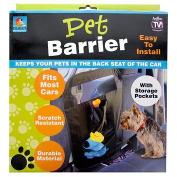 Auto Pet Barrier with Storage Pockets ( Case of 8 )