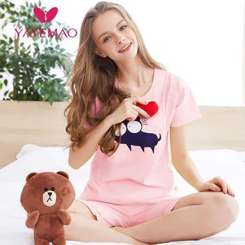 YATEMAO Nursing Pajamas Maternity Pajama Sets Homewear Nursing Lounge Clothes for Pregnant Women Breastfeeding Sleepwear