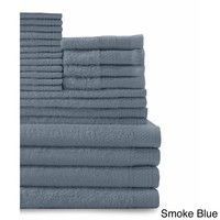 Cotton 24-piece Towel Set with Fingertip Towels | Overstock.com Shopping - The Best Deals on Bath Towels