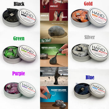 Hand putty Brand DIY slime Playdough Magnetic Rubber Mud Strong plasticine Putty Magnetic Clay Education Toys Kids Gift 7 Color