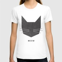 MEOW T-shirt by Wesley Bird