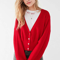 UO Nikki Snap-Button Cardigan | Urban Outfitters