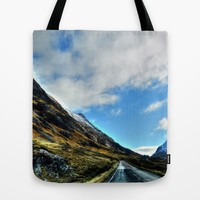 Road Tote Bag by Haroulita | Society6