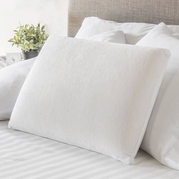 Mainstays Traditional Memory Foam Pillow White n/a