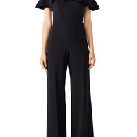 Jay Godfrey Black Biondi Jumpsuit