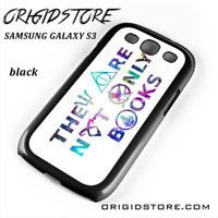 They Are Not Only Books Harry Potter The Hunger Games For Samsung Galaxy S3 Case UY