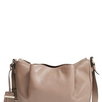 Tod's 'Small Flower' Leather Crossbody Bag