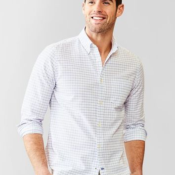 Gap Men Modern Oxford Checkered Shirt