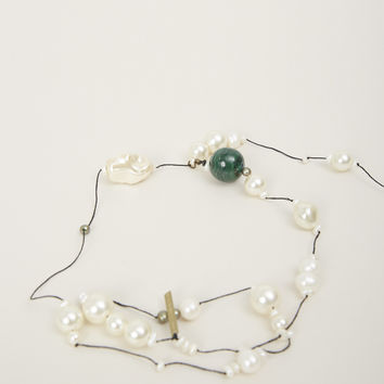 Totokaelo - Dries Van Noten Green Necklace - $421.00