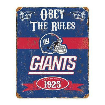 Ny Giants Vintage Sign