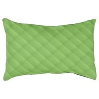 Sunny Green Rectangle Pattern, Indoor Dog Bed Small Dog Bed