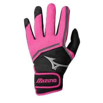 Mizuno Finch Fastpitch Bathing Gloves   Black Pink