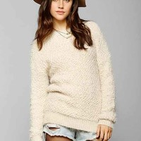 byCORPUS Cozy Popcorn Sweater- Ivory XS
