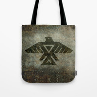 Emblem of the Anishinaabe people - Vintage version Tote Bag by LonestarDesigns2020 - Flags Designs +