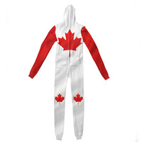 Canada Day Adult Jumpsuit