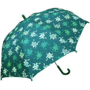 Frogs Jumping All-Over Children's Umbrella