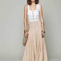 CP Shades  Sunny Stripe Linen Maxi at Free People Clothing Boutique