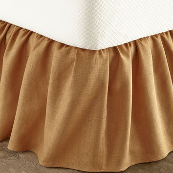 King Monterey Solid-Color Dust Skirt - Sherry Kline Home Collection