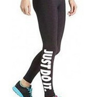 """Just do it"" Yoga Pants"