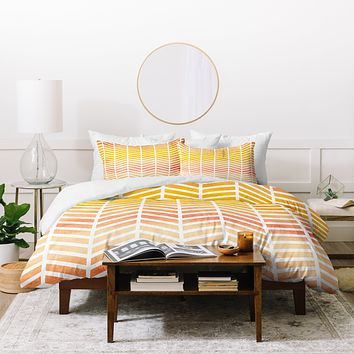 Rebecca Allen Sunset Bliss Duvet Cover