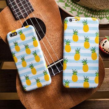 DCCKUNT Cute Pineapple Phone Case Cover For Iphone 5 5s 6 6s plus 7 Best Gfit