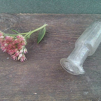 Vintage medicine bottle old potion miniature antique apothecary jar for cabinet medical oddities and curiosities potion holder pharmacy gift