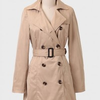 Lake Union Trench Coat