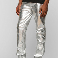 Tripp NYC Metallic Skinny Pant - Urban Outfitters