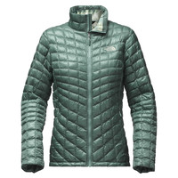 Women's Thermoball Full Zip Jacket in Trellis Green by The North Face - FINAL SALE