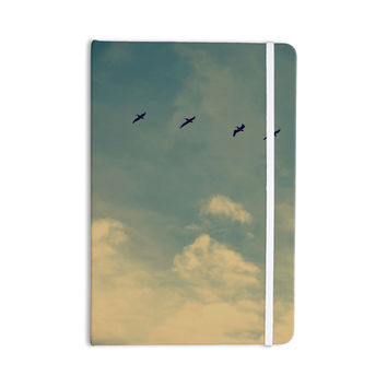 "Robin Dickinson ""Pterodactyls"" Blue Tan Everything Notebook"