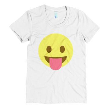 Emoji Clothing - Cheeky Emoji T-Shirt
