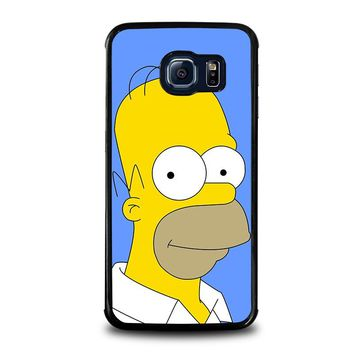 HOMER SIMPSONS Samsung Galaxy S6 Edge Case Cover