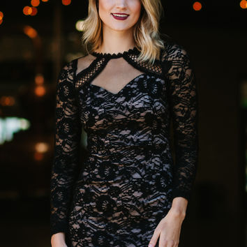 Happy Hour Lace Dress