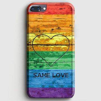 Lgbt Same Love Rainbow Flag iPhone 7 Plus Case