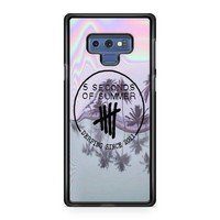5Sos Out Of My Limits Lyrics Samsung Galaxy Note 9 Case   Casefruits