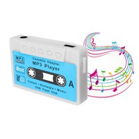 ELEGIANT Mini USB MP3 Music Player Disk Cassette Shape Support 1-32GB