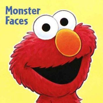 Monster Faces (Sesame Street - Chunky Shape Books)
