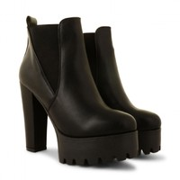 Tatianna Twin Gusset Ankle Boots