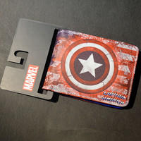 Comics Dc Marvel the Avengers Hulk/Iron Man Thor/Captain/Superman Purse Logo Credit Oyster license card Holder Cartoon Wallet