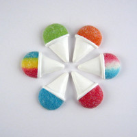 Snow cone fridge magnet - select your flavor, miniature carnival snack, fake food, refrigerator
