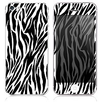 Zebra Print Skin for the iPhone 3gs, 4/4s, 5, 5s or 5c