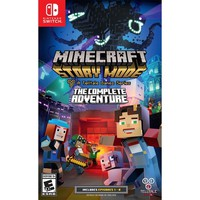 Minecraft: Story Mode The Complete Adventure Nintendo Switch