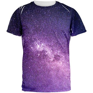 Halloween Galaxy Space Stars All Over Mens T Shirt