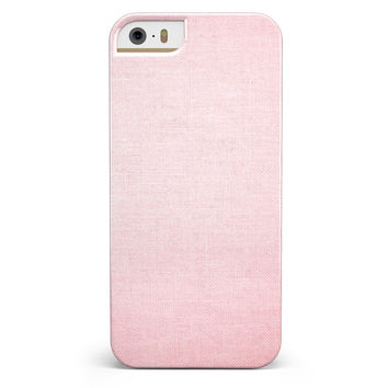 The Pink Ombre Scratched Service  iPhone 5/5s or SE INK-Fuzed Case